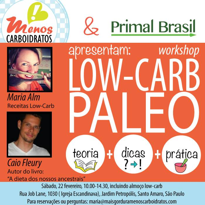 palestra low-carb:capa