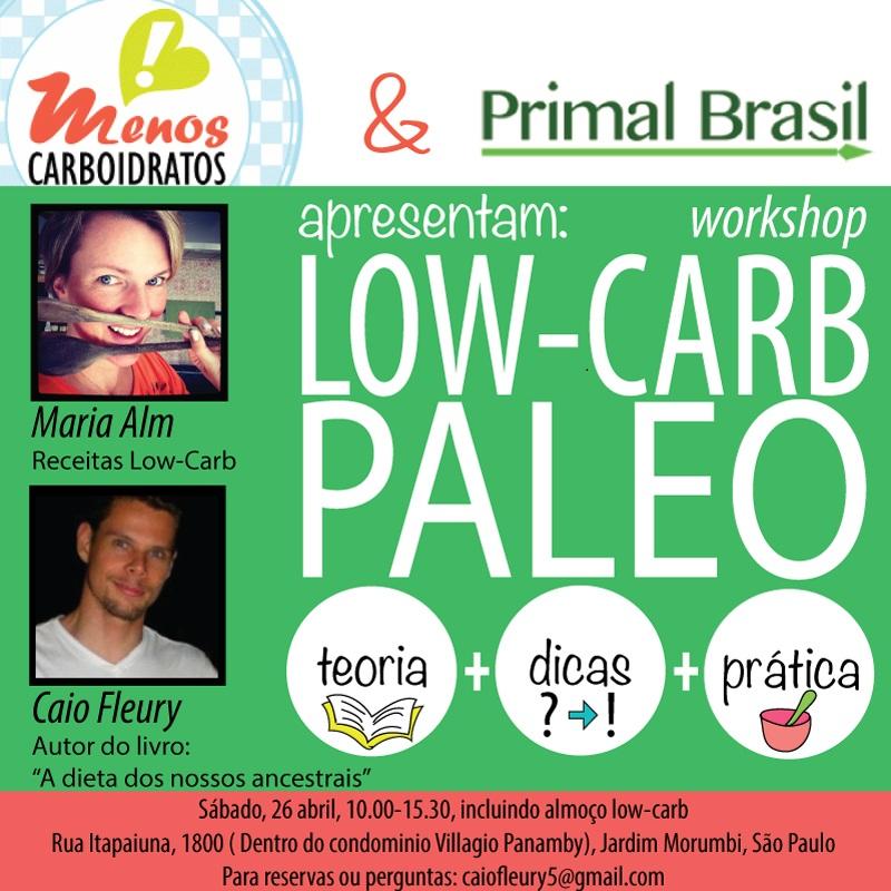 Dieta low carb: Palestra em São Paulo