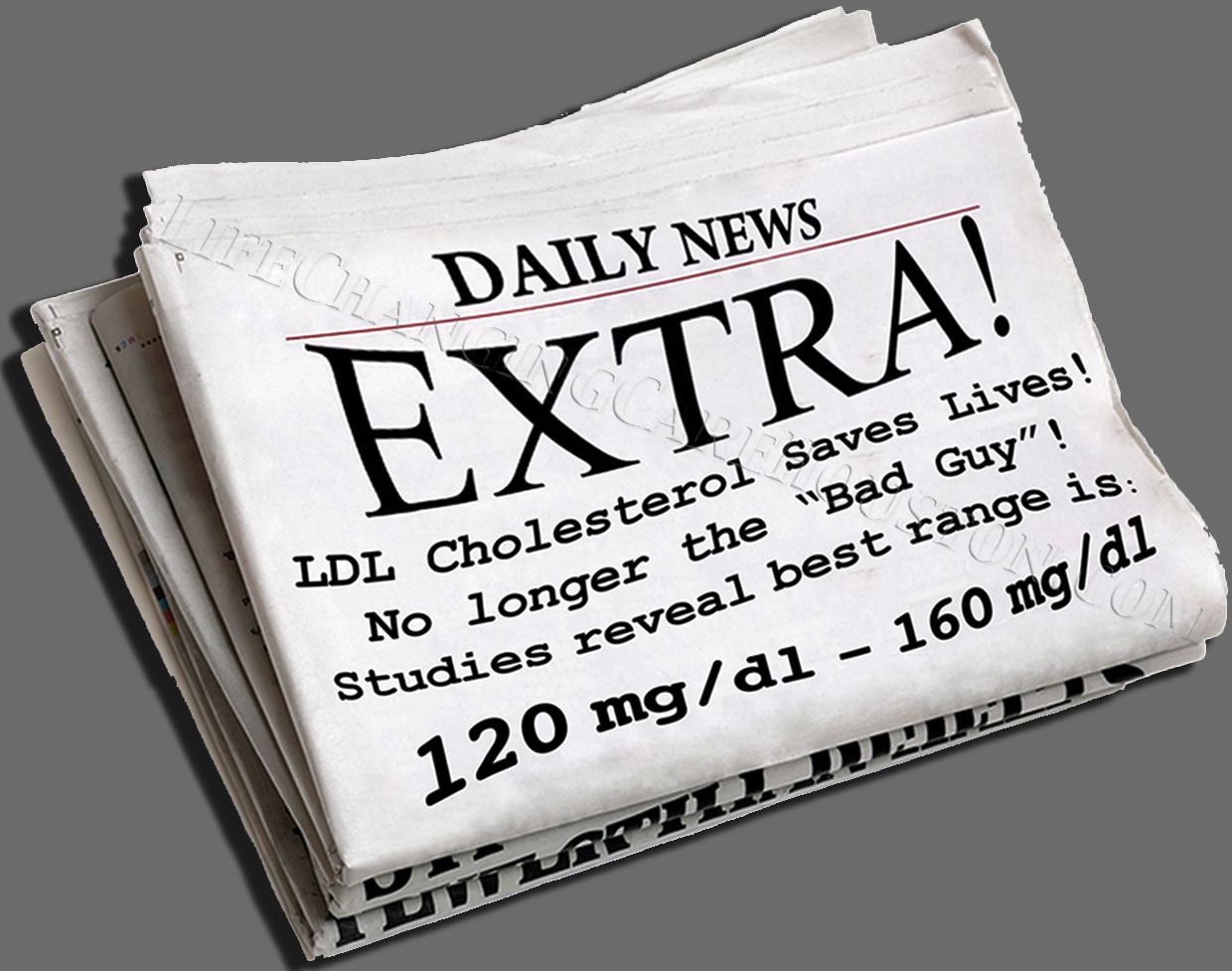 LDL-Cholesterol-Extra-Extra-Newspaper