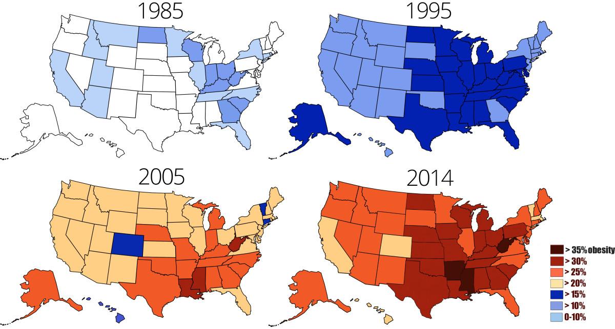 obesidade EUA
